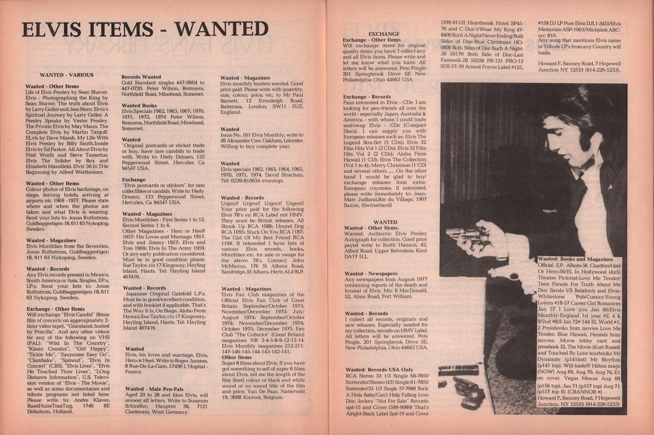 Elvis Monthly