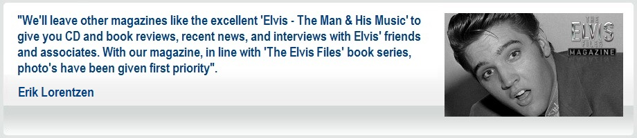Elvis Files Magazine - Year by Year Overview